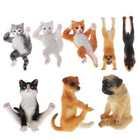 Yoga Puppy Pet Dog Resin Ornament Figurine Model Statue Gift Collectable NEW