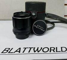 Pentax Asahi SMC-Takumar 105mm F2.8 M42 Lens + Caps & Case