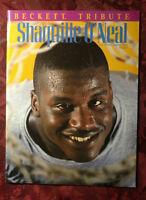 1994 #4 BECKETT NBA Basketball Tribute Magazine SHAQUILLE O'NEAL SHAQ