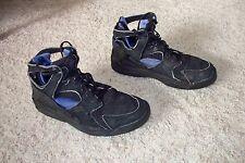 Vintage OG 1992 Nike Air Flight Huarache Men 12 Black / Sagan Blue 130017-040