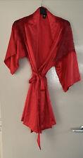 Victoria's Secret Red Robe, Size S/M