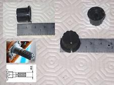 1 Bouton noire pour potentiomètre TEAC ou TASCAM et autre