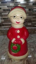 """VINTAGE CHRISTMAS UNION PRODUCTS 15"""" MRS. CLAUS BLOW MOLD"""