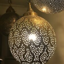 Moroccan hand made brass Ceiling pendant