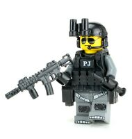 Custom PJ Para Rescue Air Force Solider (SKU10) made with real LEGO® minifigure
