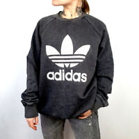 Adidas originals big logo grey sweatshirt Large size
