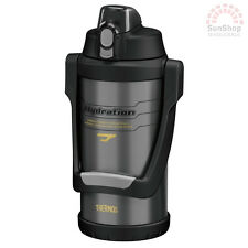 THERMOS S/S 2L Vacuum Insulated Hydration Bottle w/ Carry Handle Grey Sports!