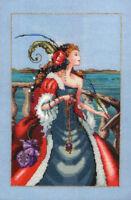 Red Lady Pirate by Mirabilia MD-113 cross stitch pattern