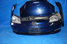 JDM Honda Civic Bumper Headlights Lights Fenders Hood Rebar Emblem 2001-2003