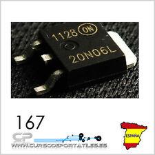 2 Unidades MTD20N06HDL  20N06HDL 20N06 TO-252 100% Original