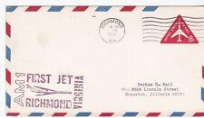 AM1 FIRST JET RICHMOND VIRGINIA -CHICAGO ILL JUN 26 1966