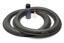 "2 JL AUDIO 10"" 10W6v2 Subwoofer Foam Surround Repair Kit"