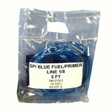 "NEW SPI BLUE FUEL LINE WITH AN ID OF 1/8"" PRE-CUT TO 5FT KAWASAKI HONDA SUZUKI"