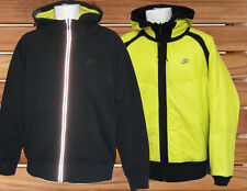 Nike muy ligero reflectante ventilado correr camisa blanco G