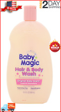 Baby Magic Hair and Body Wash Original Baby Scent 16.5oz Pack of 2 Free Shipping