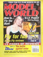 RC Model World - Radio Controlled Aircraft, August 1999 - Free Plan Cap-It