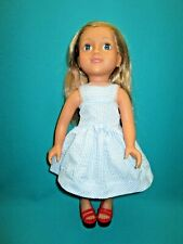 """Uneeda 18"""" Girlie Girlz Doll-E-36"""