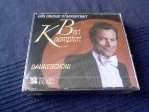 3xCD Bert Kaempfert DANKESCHÖN Collection 66 Best Of Greatest Hits Erfolge