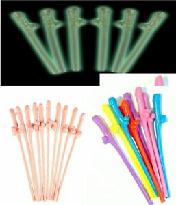 WILLY STRAWS WILLY SOCK HEN PARTY DECORATIONS ACCESSORIES DRINK HEN NIGHT GAMES