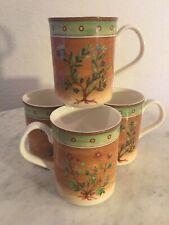 "Epoch Collection ""Spice Pavillion (English)"" Set Of 4 Mugs. English Names. Disc."