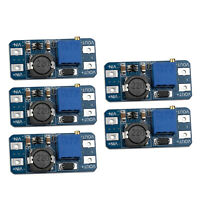 5pcs MT3608 DC-DC Step Up Power Apply Module Booster 2-24V to 5-28V for Arduino