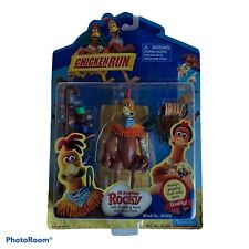 New Chicken Run All-American Rocky With Grappling Hook & Spool Pack Playmates