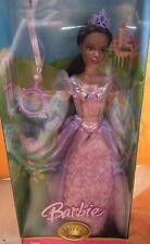 Barbie Rapunzel black African American Princess doll NEW 2007 AA NEW long hair