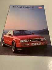 The Audi Coupe S2- Car sales brochure