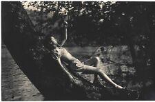 Fine Art Deco Camera Club 1930s Photograph Leggy Barefoot Model Lake H.R. Cremer
