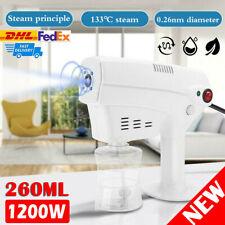 1200W Blue Light Nano Steam Gun Sprayer Oil Treatment Hair Care Steamer Machine