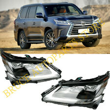 A PAIR FULL LED HEADLIGHTS FRONT LAMPS NEW For LEXUS LX570 2016 2017 2018 2019