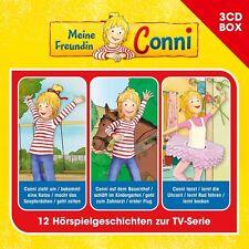 3 CDs * MEINE FREUNDIN CONNI - 3-CD HÖRSPIEL BOX VOL. 1 # NEU OVP !