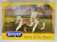 BREYER RALEIGH STABLEMATE CLUB MODEL GLOSSY BUCKSKIN PINTO HORSE SADDLBRED