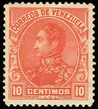 Scott # 143 - 1899 - ' Simon Bolivar '