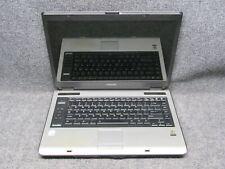 "Toshiba Satellite A105 15.4"" Laptop Intel Core 2 Duo 1.73GHz 2GB RAM *NO HDD*"