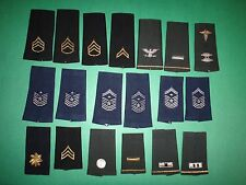 Group Of 19 US ARMY And US AIR FORCE Various Ranks Epaulets *Mixed*