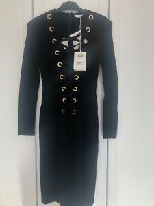 Givenchy Black Bodycon Dress New With Tags RRP £1695.00