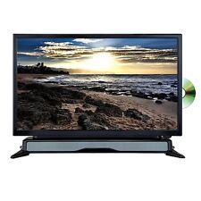 "New Axess 24"" HDTV LED LCD Television DVD Player with SoundBar HDMI USB/SD"