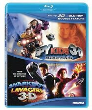 Spy Kids 3-D: Game Over/The Adventures o (2012, REGION A Blu-ray New) BLU-RAY/WS