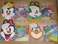 1993 McDonalds Happy Meal Box Set of 4 - Animaniacs