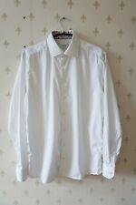 ETON Slim Herren Hemd Gr. 42 / 16½ Weiss Shirt Cotton Ice Cream