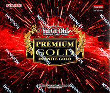 YU-GI-OH Premium Gold INFINITE GOLD 1st Edition SEALED BOOSTER BOX YUGIOH
