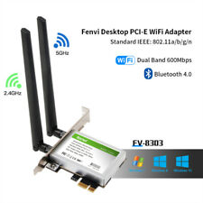 PCI PCIe WiFi Network Card 2.4G/5GHz Bluetooth 4.0 Support windows 7/ 8 /8.1 /10