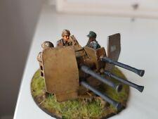 28mm painted German Flak 38 Quad