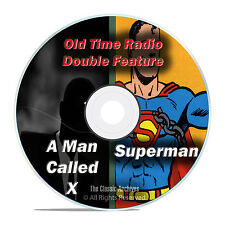 SUPERMAN, The Man Called X, All Known 1,281 Old Time Radio Shows MP3 DVD F80