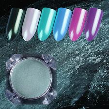 Mermaid Pearl Mint Green Nail Powder Cosmetic Eye Shadow Manicure Born Pretty