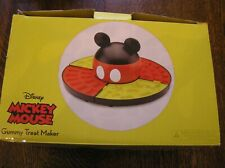 Disney Mickey Mouse Gummy & Chocolate Treat Maker Electric 4 Mold Trays~Niob!
