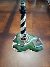 "Cape Hatteras Light Buxton Nc Lighthouse 7.75""H sculpture figure Danbury Mint"
