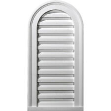 """12""""W x 24""""H x 1 7/8""""P, Cathedral Gable Vent Louver, Non-Functional"""