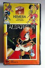 cassette vidéo VHS Albator 84 Toei Animation Hemera IDDH Narcisse X4 1983